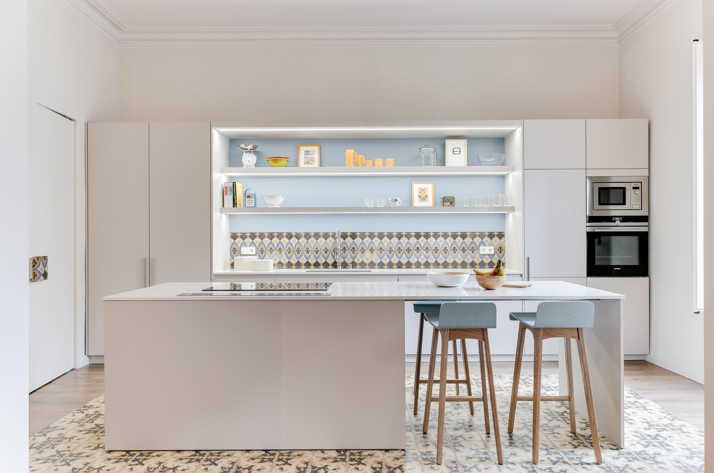 Una cuina amb llum pròpia